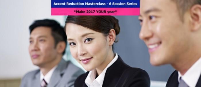 Accent Reduction Masterclasses Sydney Australia